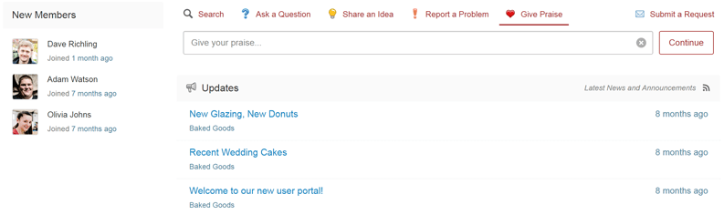 Customized forum